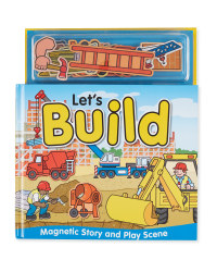Let's Build Magnetic Play Book