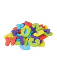 Letters and Numbers Baby Bath Toys