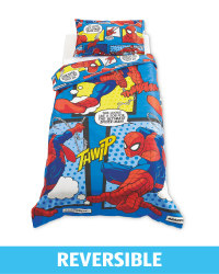 Licensed Single Duvet Set Spiderman