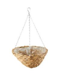 """Light Basket Hanging Basket 14"""""""