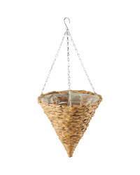 "Light Cone Hanging Basket 12"""