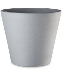 Light Grey Ceramic Pot