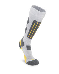 Inoc Adult's Light Grey Ski Socks