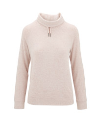 Light Pink Loungewear Shirt/Pullover