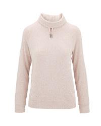 Light Pink Loungewear Shirt/Pullover