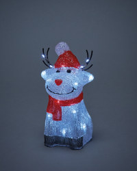 Perfect Christmas Light Up Rudolph