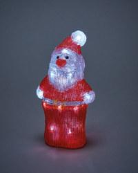 Perfect Christmas Light Up Santa