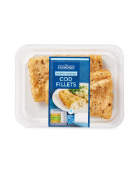 Lightly Dusted Cod Fillets