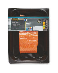 Lightly Smoked Salmon Fillets