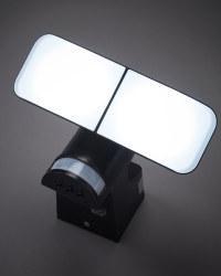 Lightway Battery Outdoor Spotlight - Black