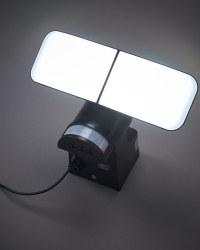 Lightway Solar Outdoor Spotlight - Black