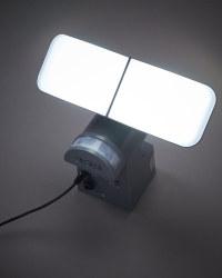 Lightway Solar Outdoor Spotlight - Grey