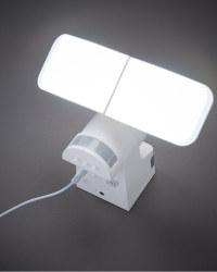 Lightway Solar Outdoor Spotlight - White