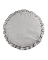 Lily & Dan Baby Ruffle Mat - Light Grey