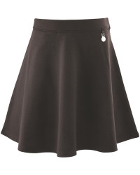 Lily & Dan Black Jersey Skirt