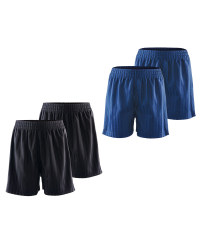 Lily & Dan Boy's PE Shorts 2-Pk