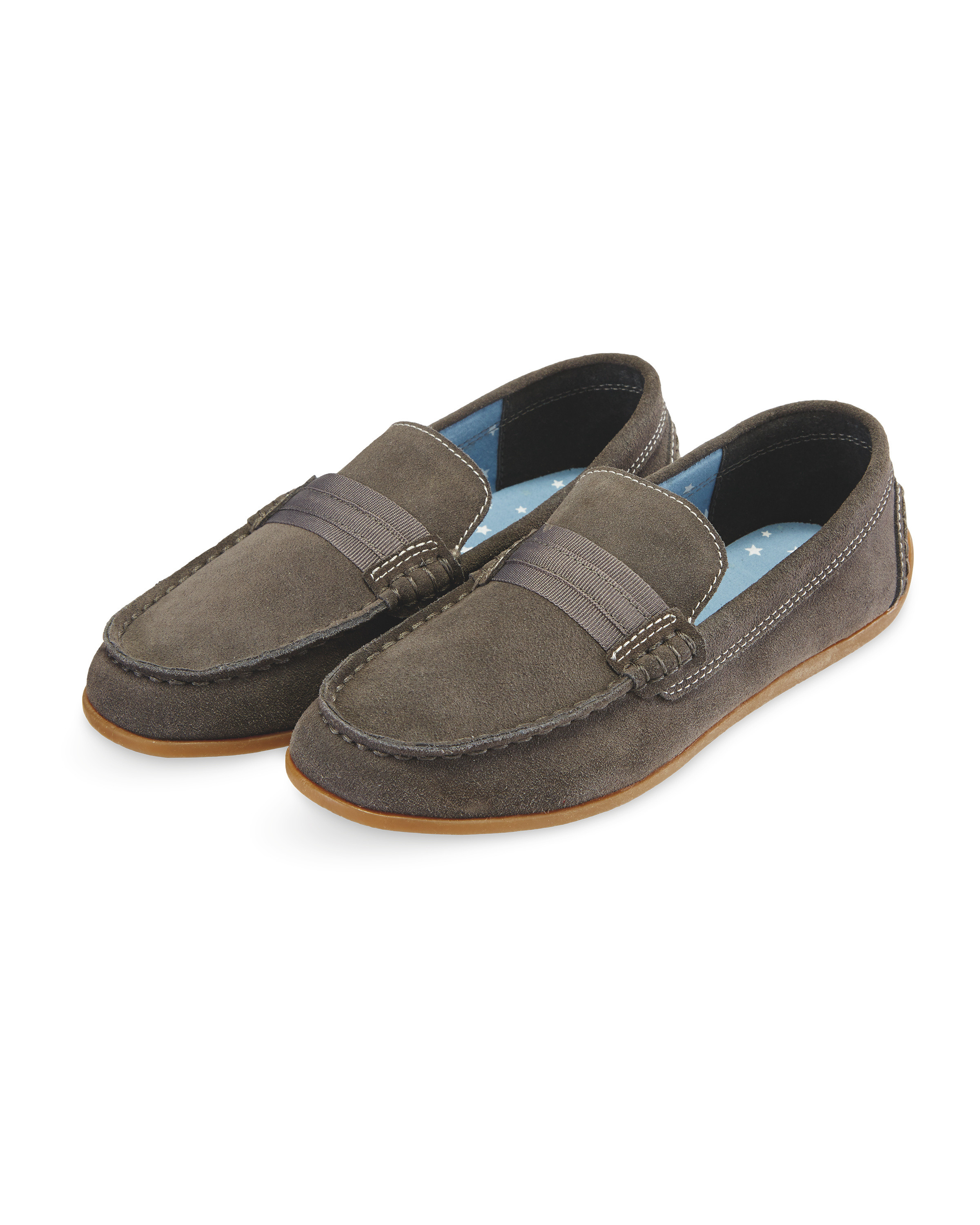 cd502bd208c97 Lily & Dan Boys' Driver Shoes - ALDI UK