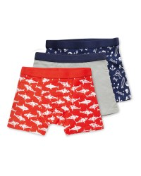 Lily & Dan Boys' Sharks Trunks