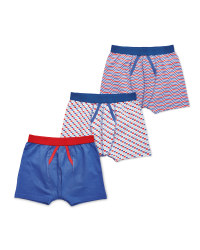 Lily & Dan Boys' Trunks 3-Pack