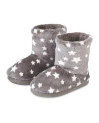 Lily & Dan Kid's Boot Slippers