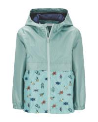 Lily & Dan Children's Green Raincoat
