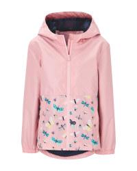 Lily & Dan Children's Rose Raincoat
