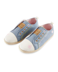 Lily & Dan Girl's Denim Pumps