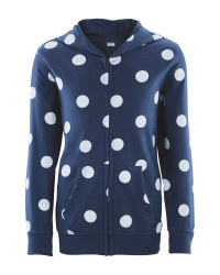 Lily & Dan Girl's Spotted Hoody