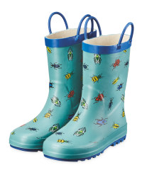 Lily & Dan Green Children's Wellies