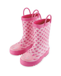 Lily & Dan Kid's Cat Wellies