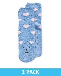 Lily & Dan Kid's Dog Slipper Socks