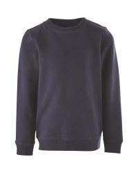 Lily & Dan Kids' Navy Sweatshirt