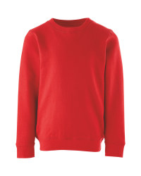 Lily & Dan Kids' Red Sweatshirt