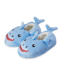 Lily & Dan Kids' Shark Slippers