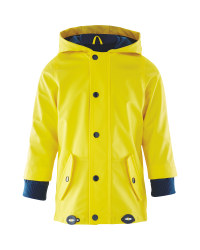 Lily & Dan Kids' Yellow Mac