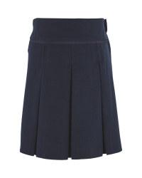 Lily & Dan Navy Pleated Skirt