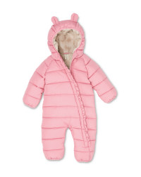 Lily & Dan Rose Baby Winter Overall