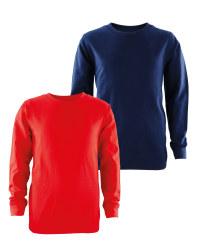 Lily & Dan Round Neck Sweater