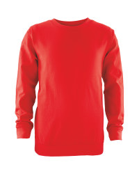 Lily & Dan Round Neck Sweater - Red