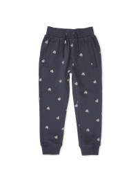 Lily  & Dan Girls Heart Joggers