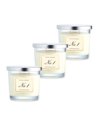Lime, Basil & Mandarin Candle 3 Pack