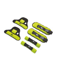 Lime Fitness Weight Set