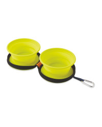 Lime Collapsible Pet Bowl