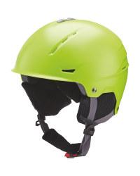 Crane Lime Ski Helmet