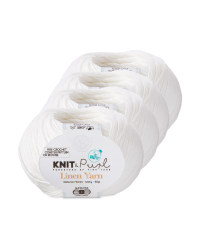 Linen Ivory Natural Yarn 4 Pack