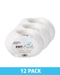 Linen Ivory Yarn 12 Pack