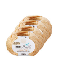 Linen Parchment Natural Yarn 4 Pack