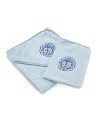 Lion Baby Towel & Wash Mitt