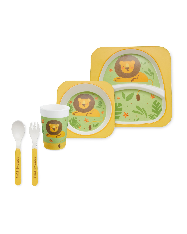 Lion Children's Melamine Dinner Set