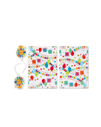 Lion Wrapping Paper & Tags